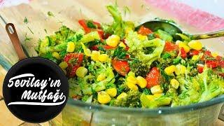 Brokoli Salatası Nasıl Yapılır? |Brokoli Salatası Tarifi