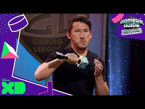 Gamer's Guide to Pretty Much Everything | Host Markiplier! | Official Disney XD UK
