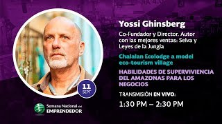 Conferencia Magistral Yossi Ghinsberg