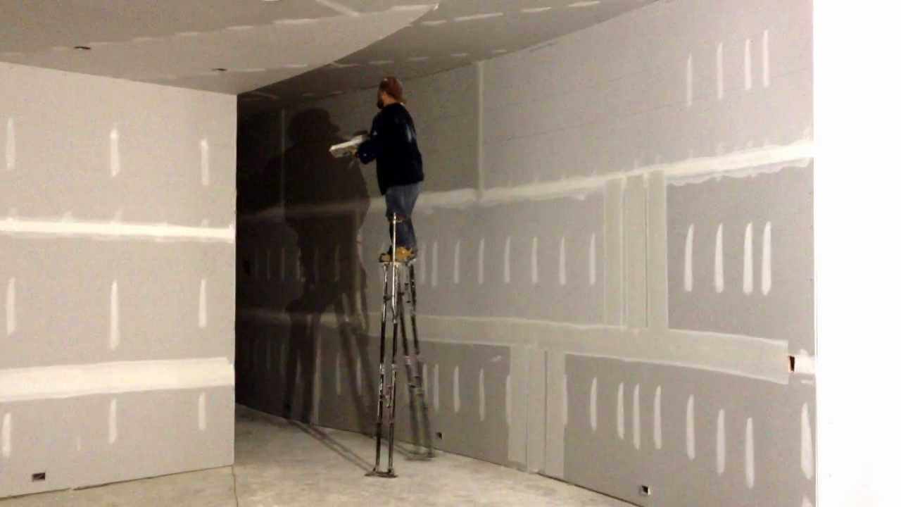 Tall Stilts For Drywall Youtube