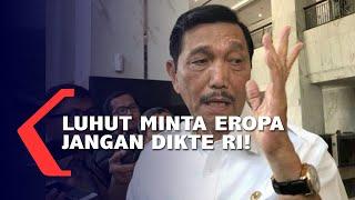 Tegas! Menteri Luhut Minta Eropa Jangan Dikte Indonesia soal Ekspor Nikel