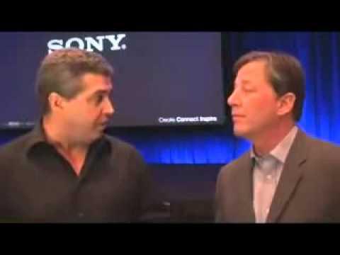 Sony at NAB 2009 Bryan Carroll, Co producer of Public Enemies