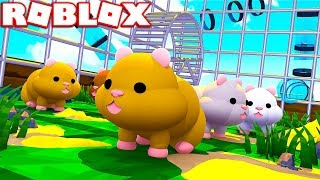 ROBLOX HAMSTER SIMULATOR! (BECOME A REALISTIC HAMSTER)