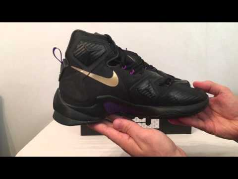 new concept a5232 b674a Lebron 13 pot of gold unboxing - YouTube