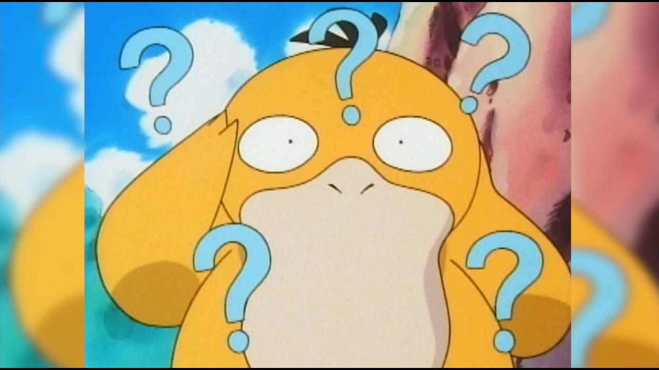 Get psyched for Psyduck!