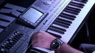Démo KORG PA3X : Styles - MP3 - TC Helicon (La Boite Noire)