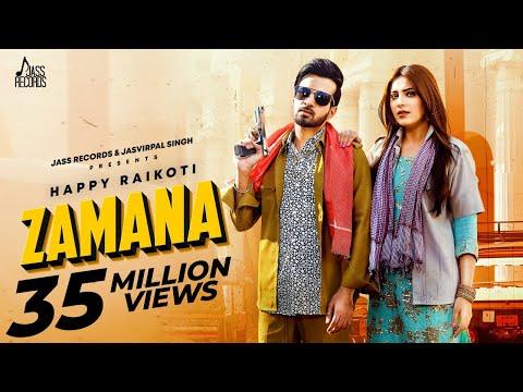 Zamana | Full Hd | Happy Raikoti Ft.afsana Khan | Ginni Kapoor | Punjabi Song 2020 | Jass Records