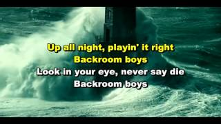 Nazareth - Backroom Boys Karaokê