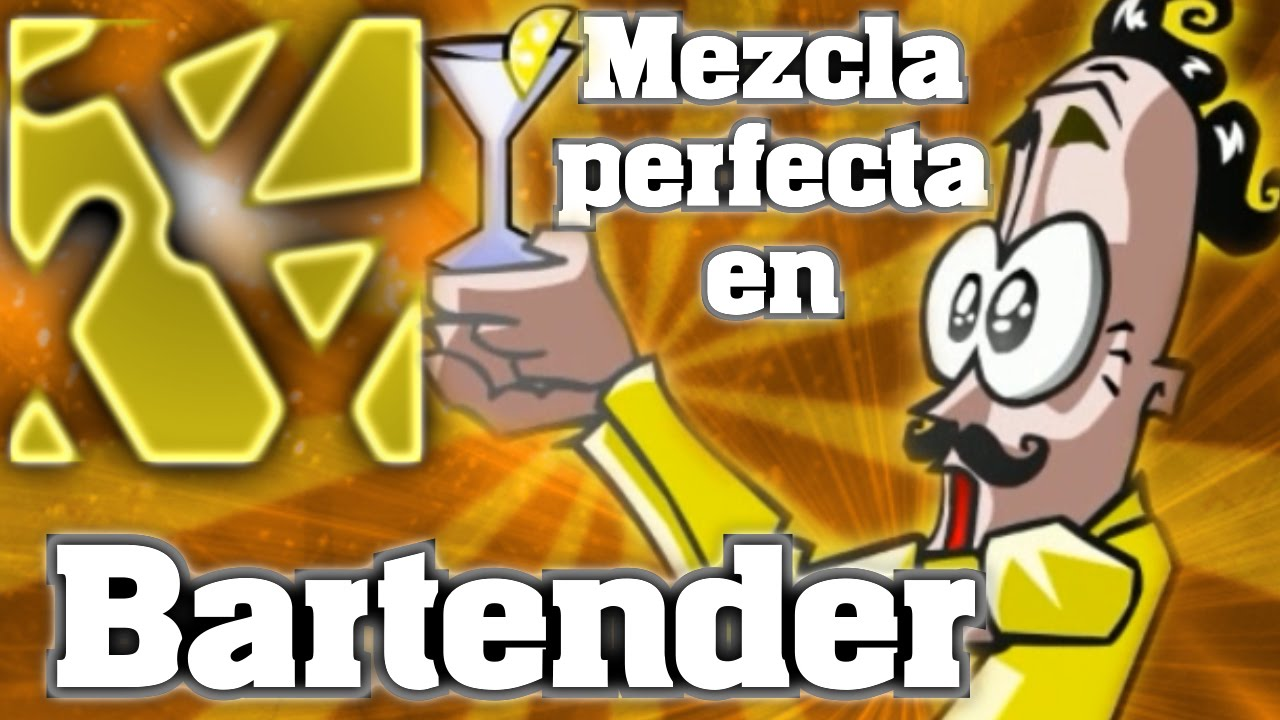 La mezcla perfecta en bartender the right mix the for The perfect drink mixer