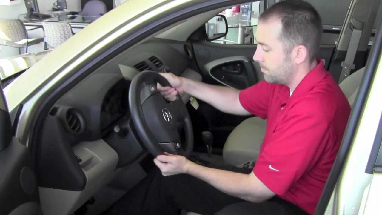 2011 Toyota Rav4 Steering Wheel Unlock How To By