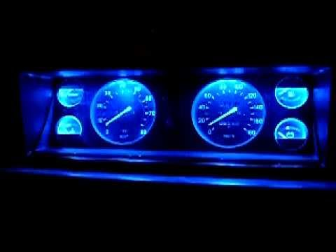 VAZ 21074 LED panelis