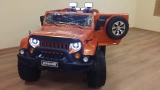 Детский электромобиль JEEP WRANGLER O999OO 4x4