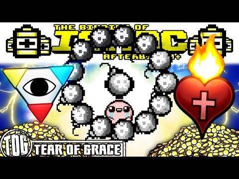 BOMB BOWLING/HOLY HAND GRENADE BARRAGE (1 Frame Hush Kill) | The Binding of Isaac: AFTERBIRTH PLUS