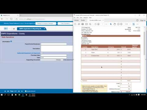 EMPG Quarterly Reporting Tutorial (2016)