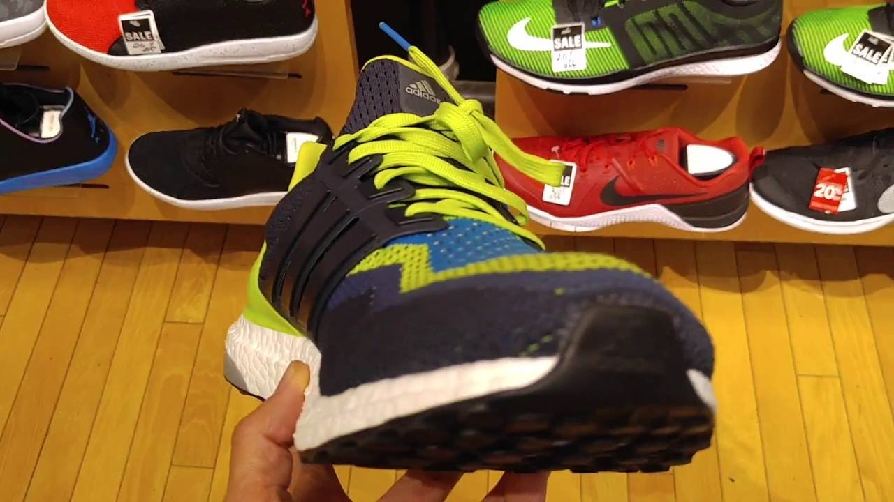 f52f307a7e30e New Close-Up Zoom on Adidas Ultra Boost M  Semi Solar Slime  Colorway  Continental 2016 - YouTube