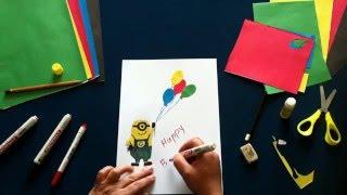 Как нарисовать. Уроки рисования Миньона из Гадкий Я How to Draw a Minion