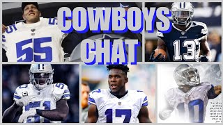 COWBOYS CHAT: Our New-Look Cowboys, Draft, & Stats; Gregory's Appeal; Final Words On Witten, & More!