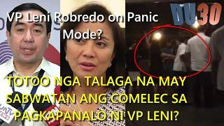 Bongbong file electoral fraud, VP Leni secret meeting Andres Bautista