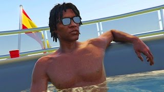 GTA 5 Online - CHILLING W/ THE CREW! (GTA V Online)