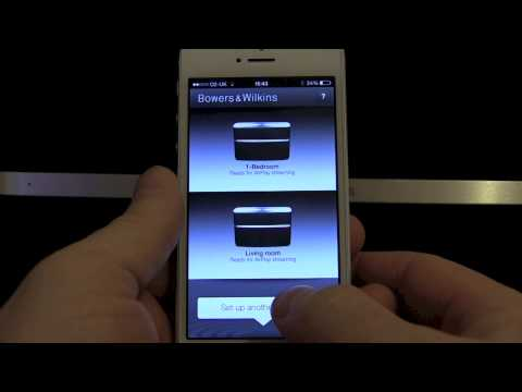 Bowers & Wilkins A5 Airplay Speaker. Unboxing and Setup