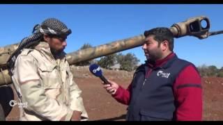 معركة حمراء الجنوب لفك الحصار عن ريف دمشق الغربي