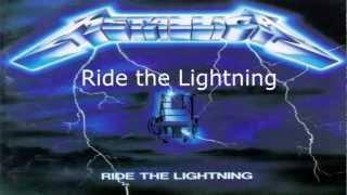 Metallica - Ride the Lightning (Instrumental album) HQ