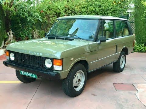 1984 range rover classic 2 door 3 5 v8 for sale youtube. Black Bedroom Furniture Sets. Home Design Ideas