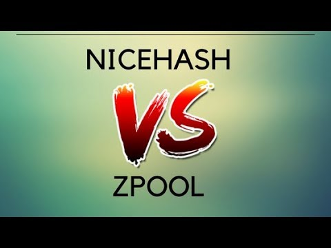 Nicehash VS Zpool Mining Profits Review