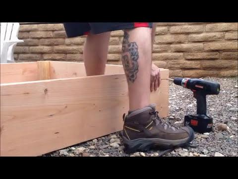 Building a 5x5 sandbox under 70$