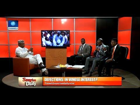 Analyst Condemns Oshiomhole For Asking Saraki To Resign As Senate President Pt.2 |Sunrise Daily|