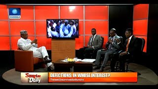 Analyst Condemns Oshiomhole For Asking Saraki To Resign As Senate President Pt.2 |Sunrise Daily|