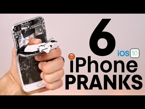 6 iPhone Pranks To Piss Off Friends on iOS 10!