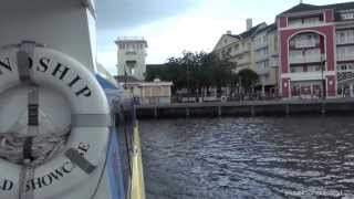 Walt Disney World Friendship Boat from Epcot to Disney's Hollywood Studios
