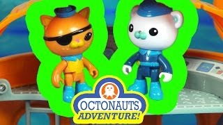 The Octonauts Adventure C gup and Shellington Save the Whale