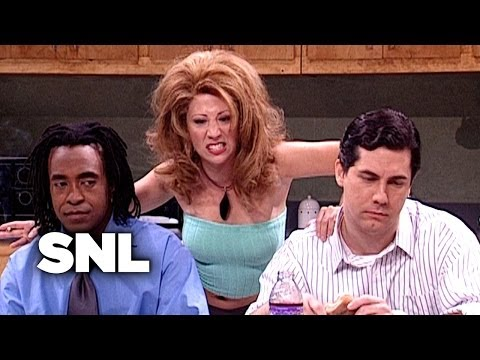 snl office flirt video