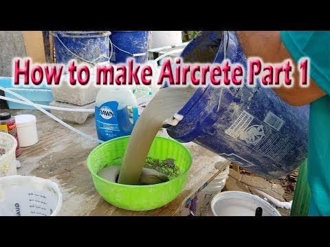 How To Make Aircrete Part 1
