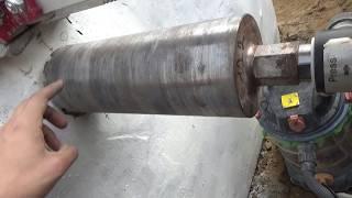 как сделать отверстие в фундаменте под канализацию своими руками