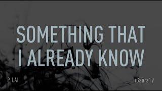 Backstreet Boys - Something That I Already Know (Lyric Video) HD