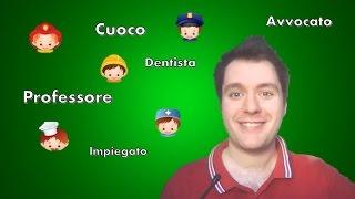 Corso di italiano   Lezione 9  Professioni Learn  talian  talienisch lernen Apprendre litalien