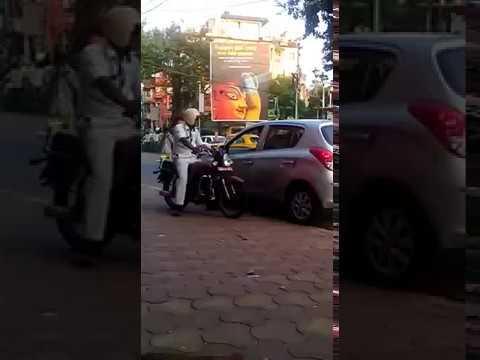Kolkata Police Officer Taking Money as Side Income - Shame Shame