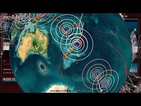 9/15/2018 -- New round of earthquakes strikes across Pacific -- Japan + Europe hit as expected