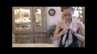How to Wear Pavlovo Posad Shawls with Evening Attire(Learn how to spice things up with your Pavlovo Posad Shawl or Scarf. We offer you four new ways to do just that! If you haven't got one, get it here: ..., 2013-12-19T16:23:23.000Z)