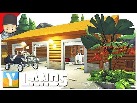 YLANDS - CAR GARAGE & WORKSHOP! : Ep.31 (Survival/Crafting/Exploration/Sandbox Game)