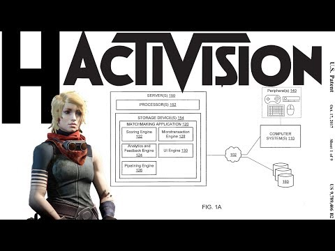 activision matchmaking patent