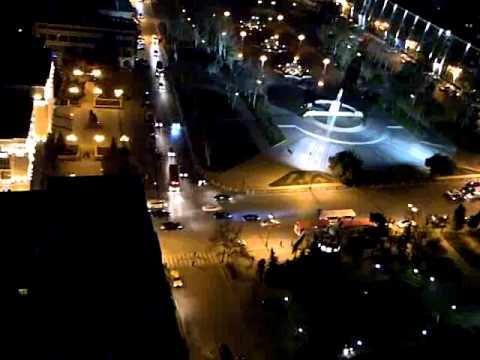 Baku in night