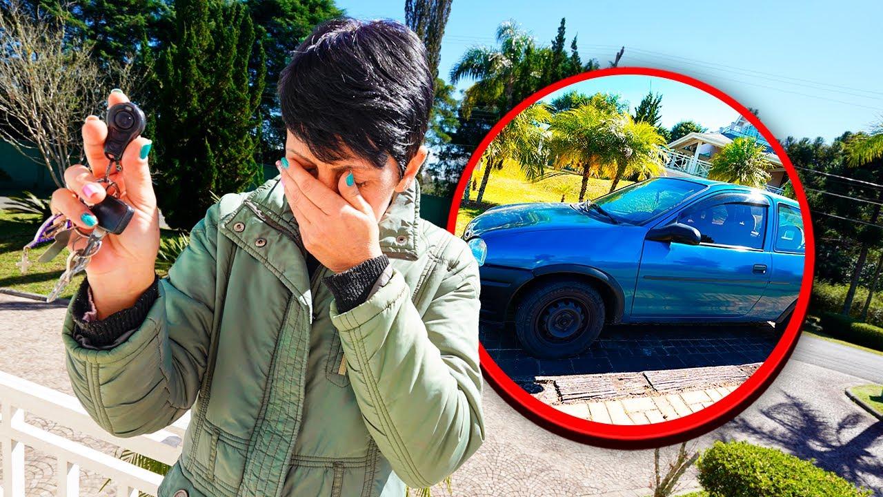 roubaram o carro da nossa empregada :(