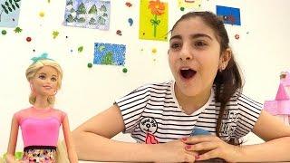 Игры с Барби: делаем модное тату Мехенди