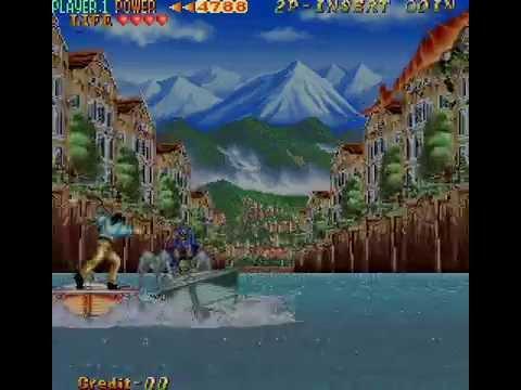 Arcade Longplay 582 The Cliffhanger: Edward Randy