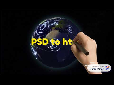 Convert psd file to html