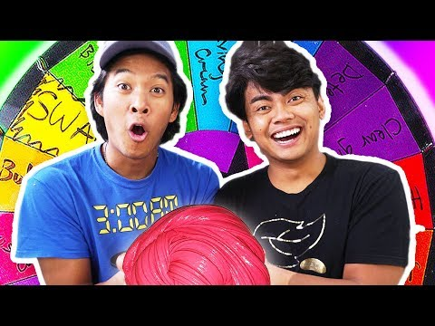 Mystery Wheel Of Slime Switch-Up Challenge!!! Ft. Guava Juice (Roi)